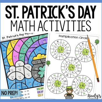 St. Patrick's Day Mutliplication and Division