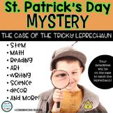 St. Patrick's Day Mystery - Math, Literacy, Science, & STEM Centers