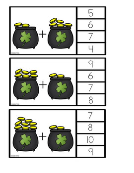 St. Patrick's Day Mystery: Math, Literacy, Science, & STEM Centers & Activities