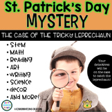 St. Patrick's Day Mystery   STEM & Literacy Centers & Activities