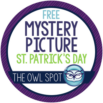 St. Patrick's Day Mystery Picture Freebie