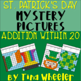 St. Patrick's Day Mystery Pictures Addition Within 20 ~ Fact Fluency