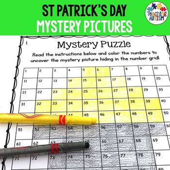 St. Patrick's Day Activities: Mystery Puzzles