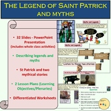 St Patrick's Day Myths and Legends, Worksheets, PowerPoint, Lesson Plans, ELA