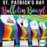 St. Patrick's Day NO PREP Rainbow Pot of Gold Bulletin Boa