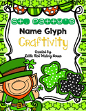 St. Patrick's Day Name Glyph Craftivity