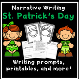 St. Patrick's Day Activities Leprechaun Writing Prompts
