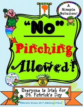 St Patrick's Day:  No Pinching Allowed