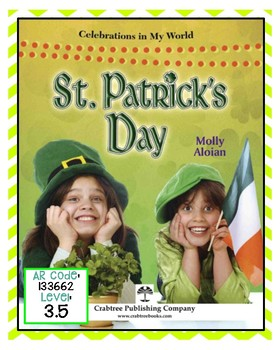 St. Patrick's Day Nonfiction text with comprehension & main idea