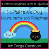 St. Patrick's Day Nouns, Verbs & Adjectives (Great for Goo