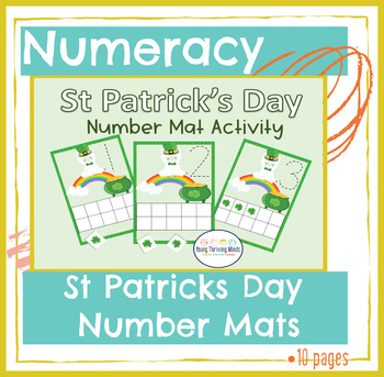 St. Patrick's Day Number Mat Activity