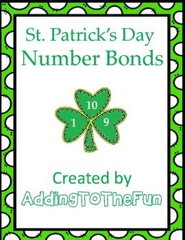 St. Patrick's Day Number Bond Worksheets