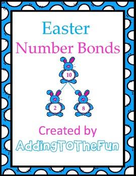 Easter Number Bonds Worksheets