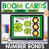 St. Patrick's Day Number Bonds Boom Cards