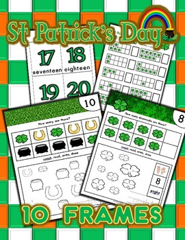 St. Patrick's Day Number Counting Activities