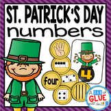 St. Patrick's Day Number Match-Up