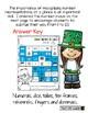 St. Patrick's Day Number Maze (1-20)