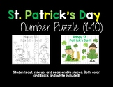 St. Patrick's Day Number Puzzle (1-10)