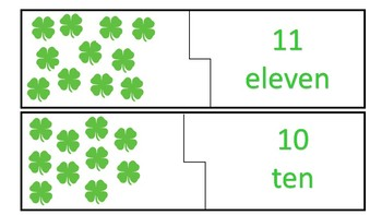 St. Patrick's Day Number Puzzle