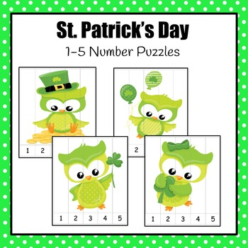 Number Puzzles: St. Patrick's Day Number Puzzles