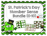 St. Patrick's Day Number Sense (0-10)