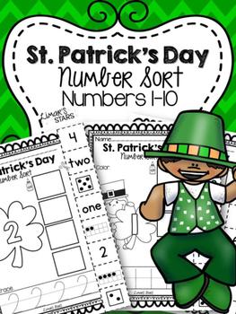 St. Patrick's Day Number Sort