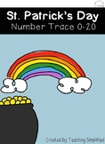 St. Patrick's Day Number Trace