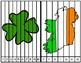 St. Patrick's Day Number & Vocabulary Fluency Strip Puzzle | 1-10 | Vocab