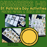 St. Patrick's Day Numbers 1-10 Activities | Memory, Matchi