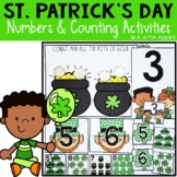 St. Patrick's Day Numbers and Counting Activities