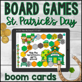 St. Patrick's Day Open Ended Board Games    Boom Cards™