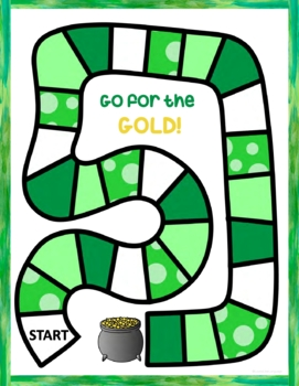 Speech and Language Therapy Games for St. Patrick's Day Activities