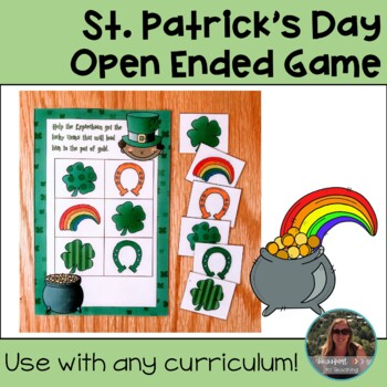 St. Patrick's Day Open Ended Game