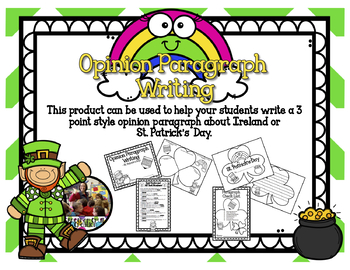 St. Patrick's Day Opinion Paragraph Writing