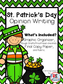 St. Patrick's Day Opinion Writing