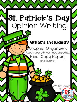 St. Patrick's Day Opinion Writing