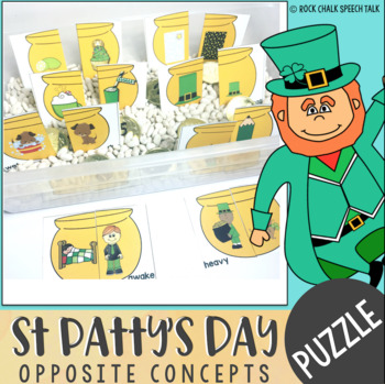St Patrick's Day Opposite Concept Puzzles