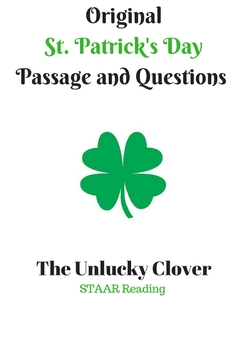 St. Patrick's Day Original STAAR Reading Passage and Questions