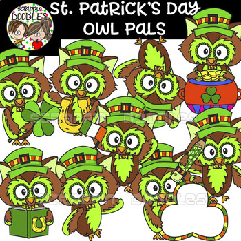 St. Patrick's Day Owl Pals
