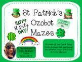 St. Patrick's Day Ozobot Mazes