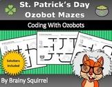St. Patrick's Day Ozobot Mazes - Spring Coding