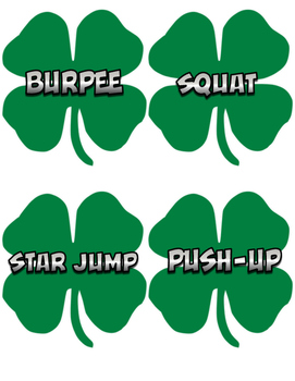 St. Patrick's Day PE Cut-Outs
