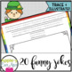 St. Patrick's Day PRINTING AND CURSIVE Joke Book Bundle