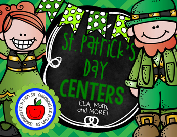 St. Patrick's Day Centers - ELA and Math