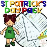 St Patrick's Day Pack {Print and Go, No Prep} {ELA and Math}