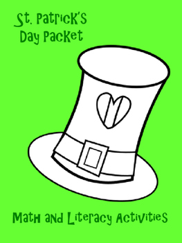 St. Patrick's Day Packet - Math and Literacy