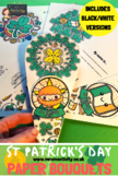 St Patrick's Day Paper Bouquet Craft