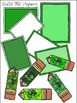 St. Patrick's Day Papers & Pencils Clipart