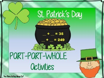 St. Patrick's Day Part-Part-Whole Activities