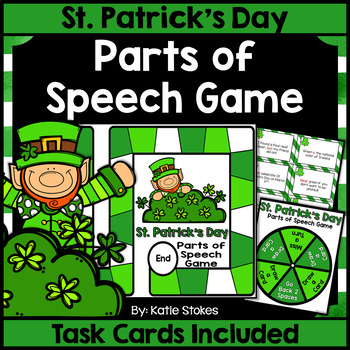 St. Patrick's Day Parts of Speech Game